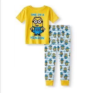 SALE 4/$30 NWT Despicable Me Minion pajamas